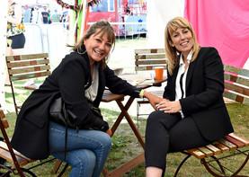 Holly Aird & Fay Ripley