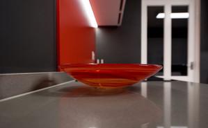 Kosta Boda red bowl