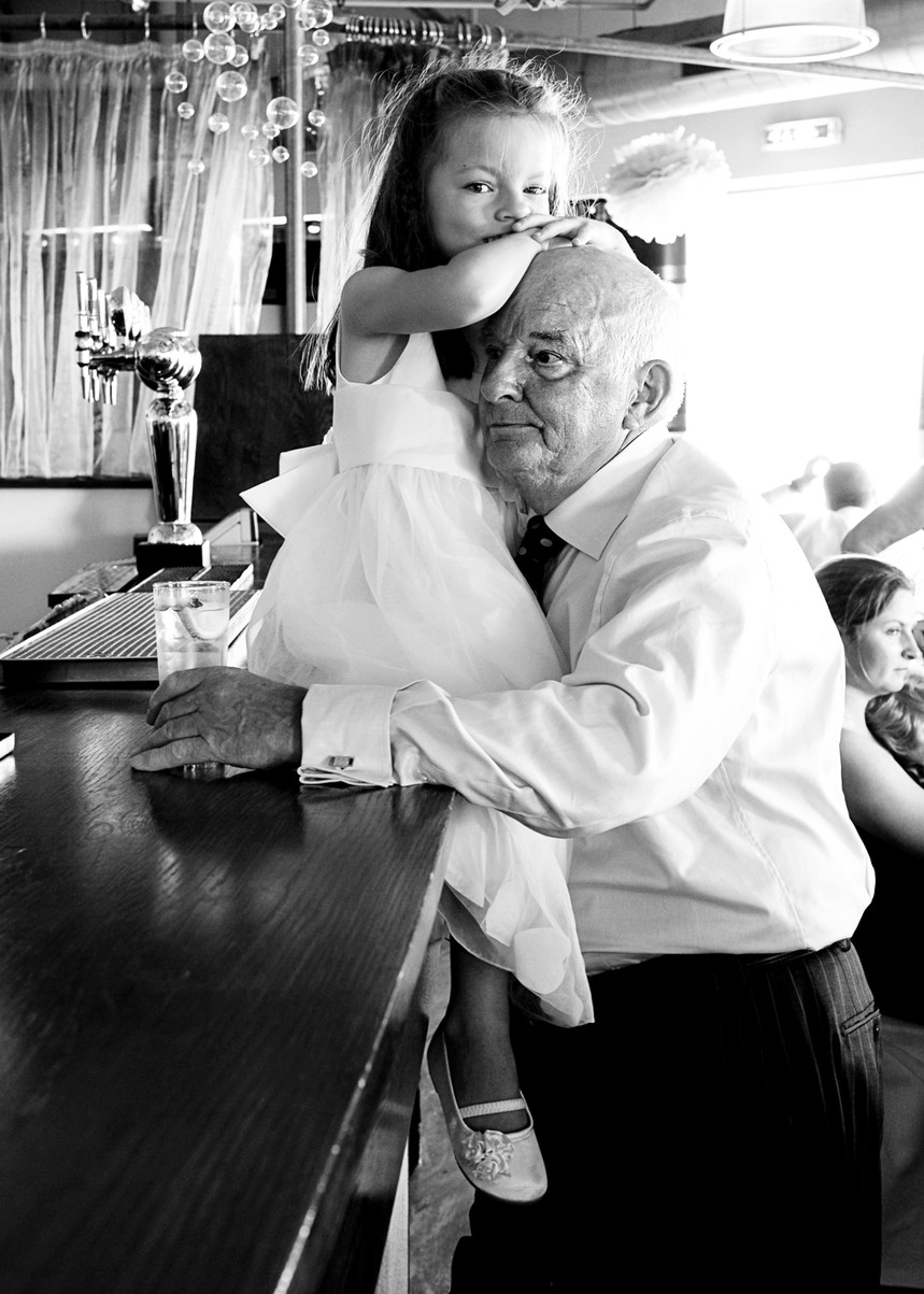Wedding reception photo by Stef Kerswell