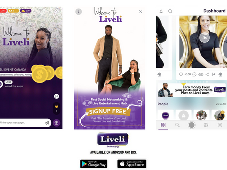 The Liveli App: A Social Networking & Live Entertainment Platform, Where Users Earn Money from Posts