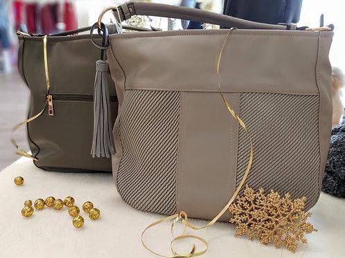 Tassle Accent Handbag