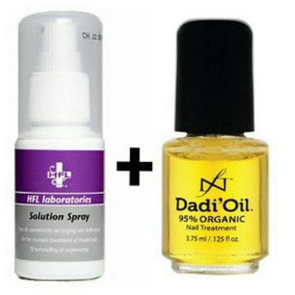 HFL Solutions Spray + Dadi'Oil