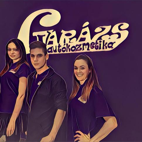 Varázs Garázs Autókozmetika csapat