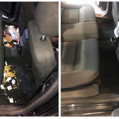 Varázs Garázs Autókozmetika kárpittisztítás