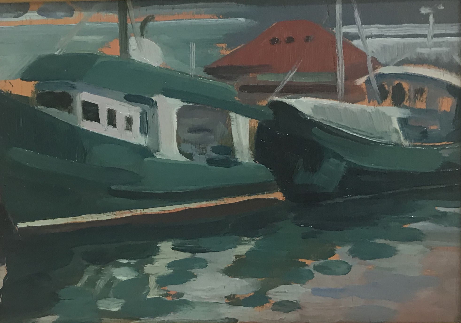 Fishing Boat Study