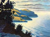 Evening Light Over Pirates Bay
