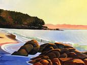 Sunrise Light & Shadows, Dora Point