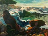 Ocean Rock Light & Shadow, Bicheno