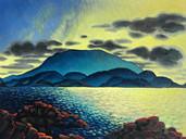Kunanyi Sunset