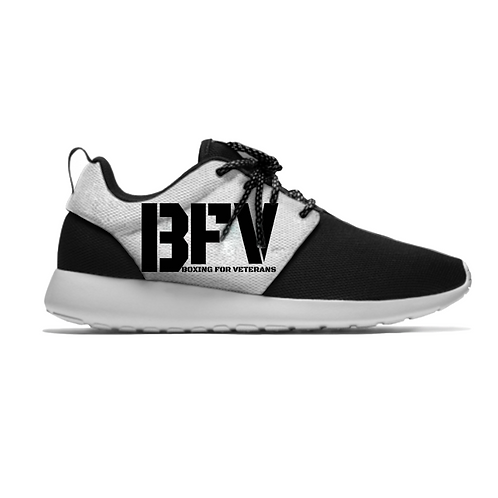 BFV Running Trainers Black Logo