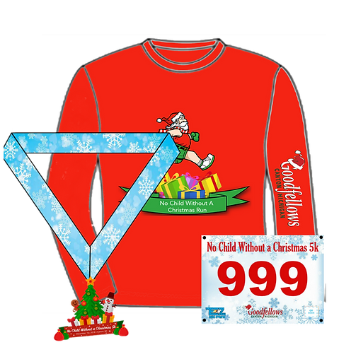 No Child Without a Christmas 5K Virtual Run 2018