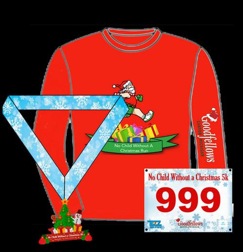 No Child Without a Christmas 5K Virtual Run 2018