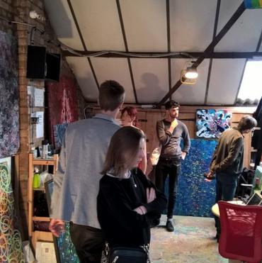Hackney Wicked Studio Visitors 2017