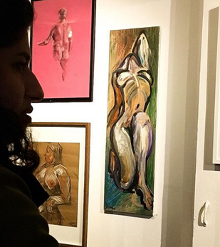 Hackney Wick Life Drawing 2019 Exhibition Launch