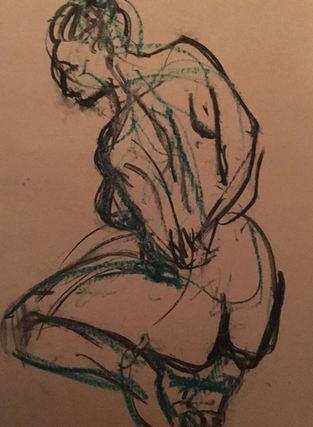 Life Drawing - Feb 2019