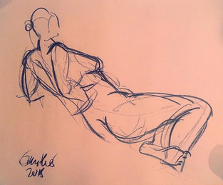 Life Drawing - Dec 2018