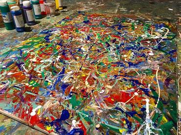Studio - Artwork in Progress 2019