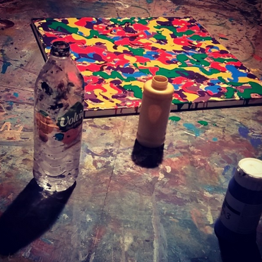 Studio - Artwork in Progress 2017