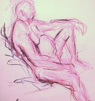 Life Drawing - June 2018