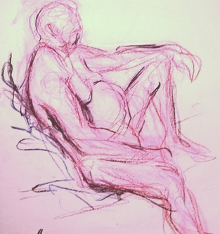 Life Drawing - June 2018