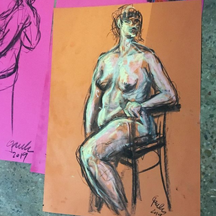 Life Drawing - June 2019