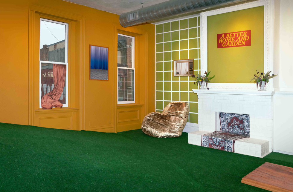 Installation view at Bunker Projects