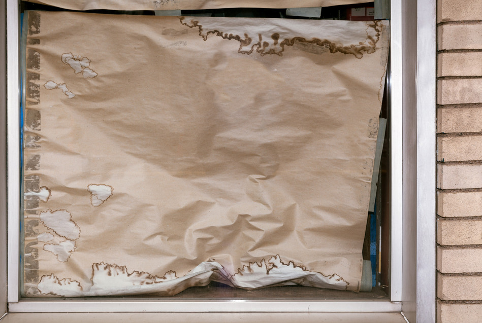 Remodel (paper curtain)