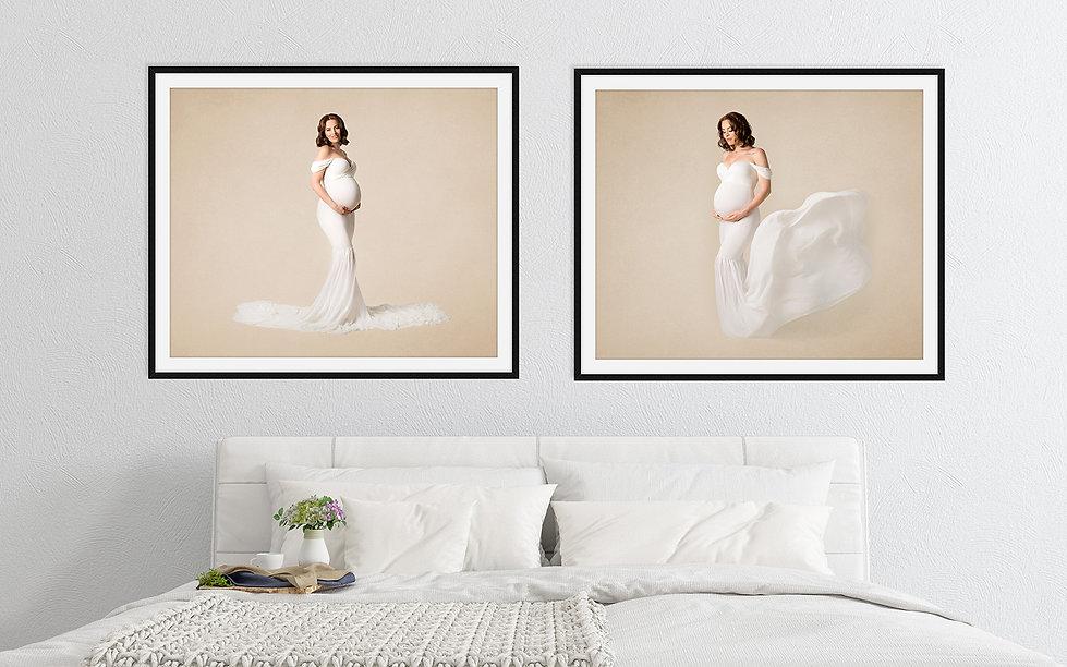 Outdoor & Studio Maternity Photos | Amber Theresa Photography | Vancouver, Burnaby, Richmond, Surrey