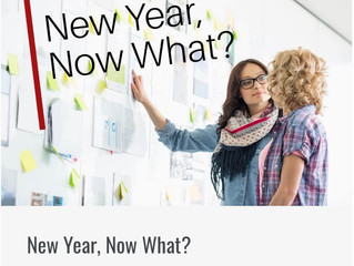 New Year? Now What?