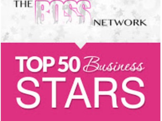 2018 Top 50 Business Stars