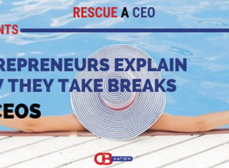 """Is it possible to """"take a break"""" when you are a full-time entrepreneur??"""
