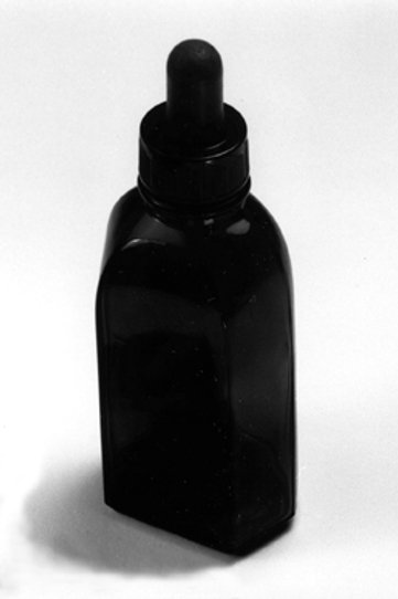 Bottle, Glass with dropper