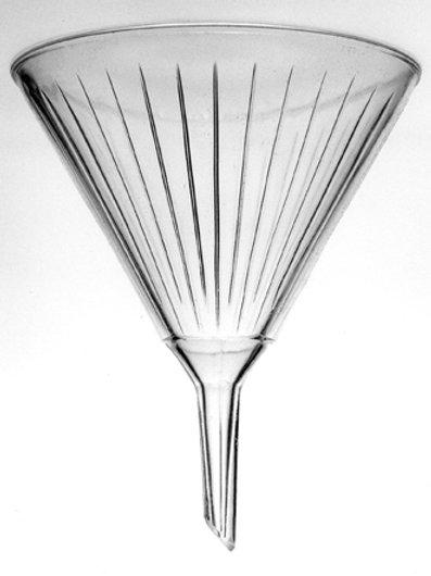 Funnel, Glass, Pyrex