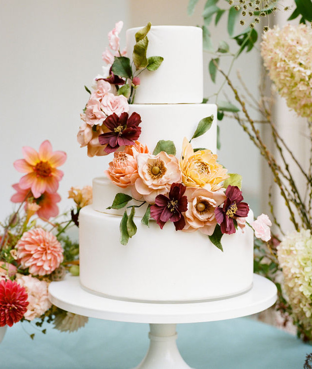 Sugar Flowers to Match Real Flowers