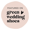 Green Wedding Shoes Featured Logo