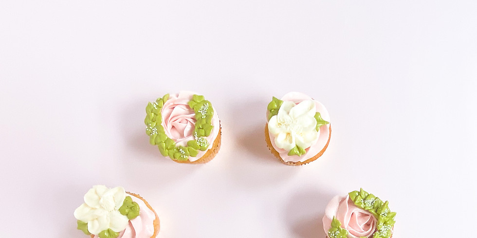 Bay Area Only: Cupcake Decorating Kit + Live Online Class