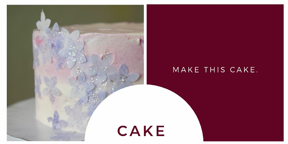 Watercolor Cake Workshop