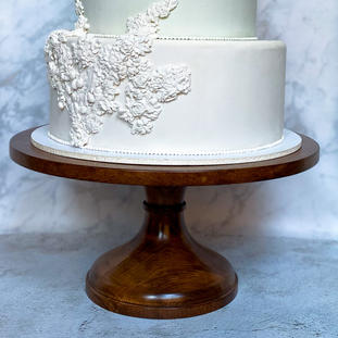 """16"""" Solid Wood Cake Stand"""