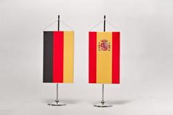 Proporczyk Niemiec i Portugalii