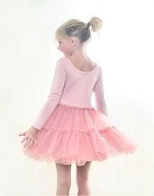 The Alice Dust Pink Tutu Dress