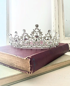 Matilda Silver Princess Crown