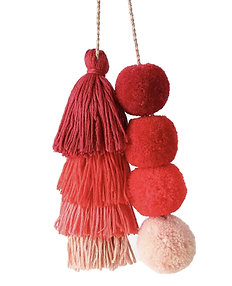 Red Wagon Ombre Backpack Charm