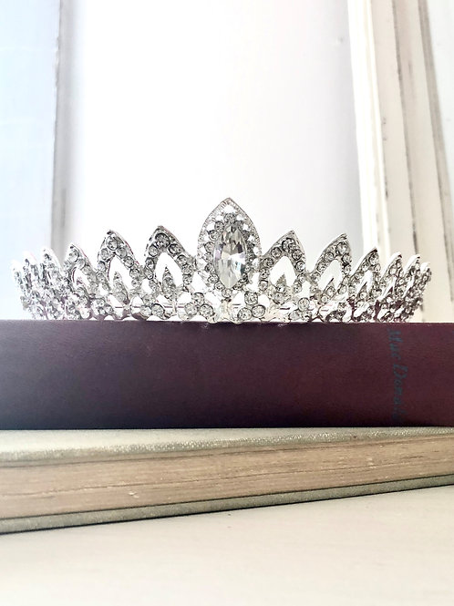 Layla Silver Princess Crown