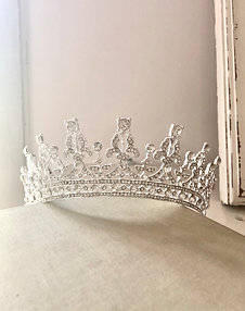 Kesha Silver Princess Crown