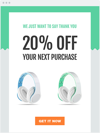 email coupon template