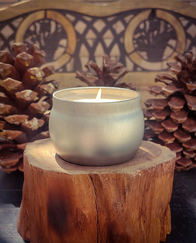 Small Tin Candle