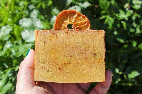 Orange Turmeric Soap