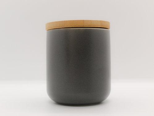 Grey Ceramic Soy Candle