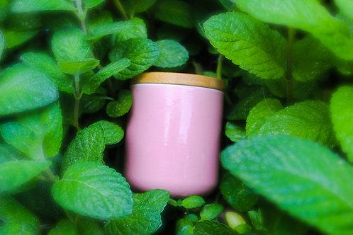 Blush Ceramic Candle