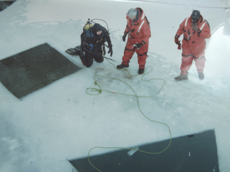 Buffalo Police Underwater Team - Training